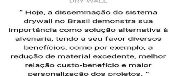 Descritivo do Serviço de DryWall